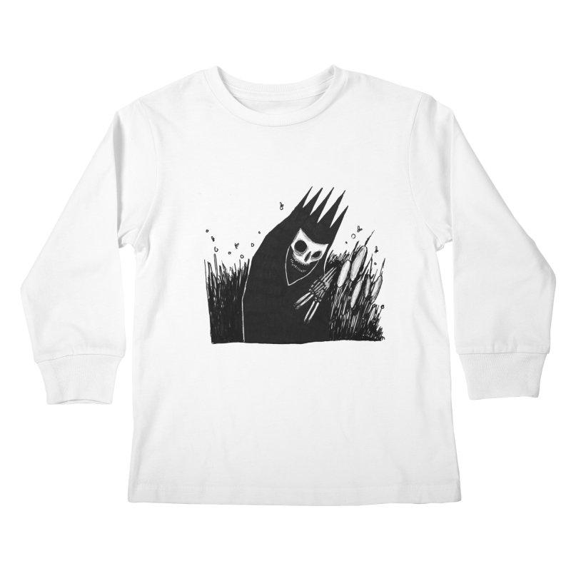 satisfy Kids Longsleeve T-Shirt by matthewkocanda's Artist Shop