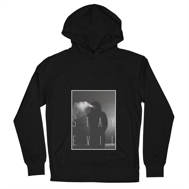 stay evil Women's French Terry Pullover Hoody by matthewkocanda's Artist Shop
