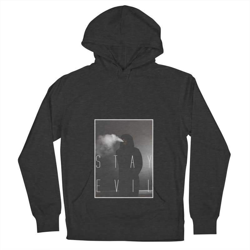 stay evil Men's French Terry Pullover Hoody by matthewkocanda's Artist Shop