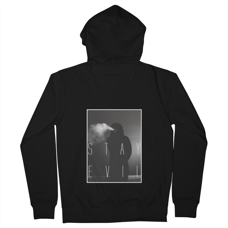 stay evil Men's Zip-Up Hoody by matthewkocanda's Artist Shop