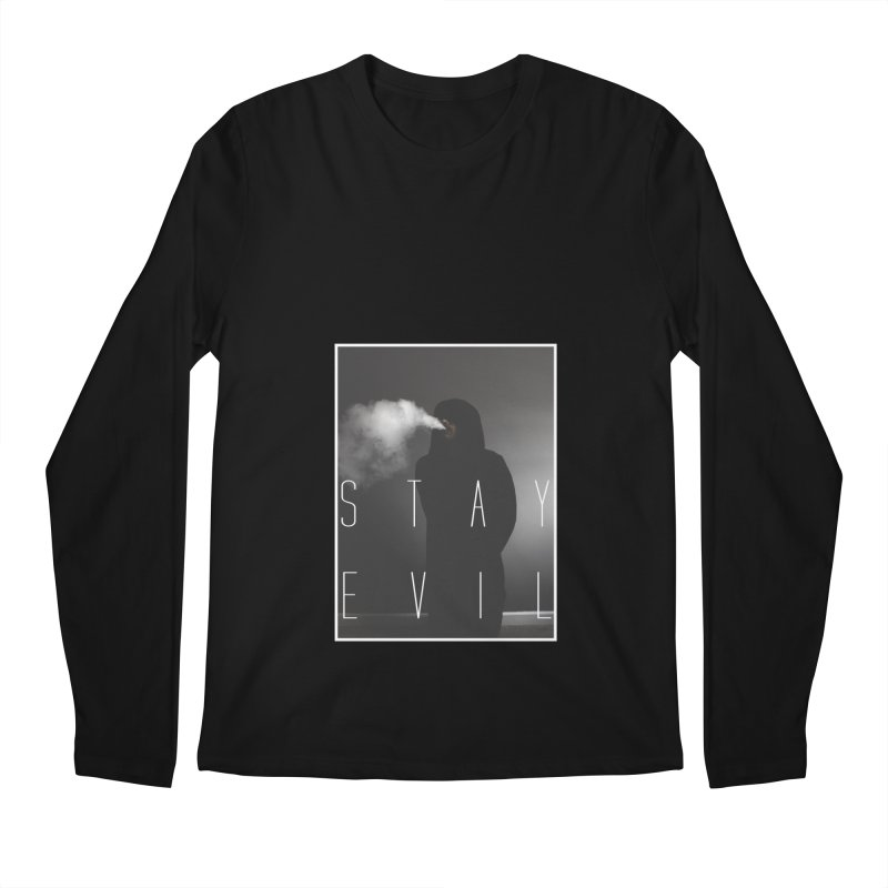 stay evil Men's Longsleeve T-Shirt by matthewkocanda's Artist Shop
