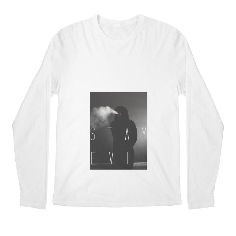 stay evil Men's Longsleeve T-Shirt by matthewkocanda's Artist Shop