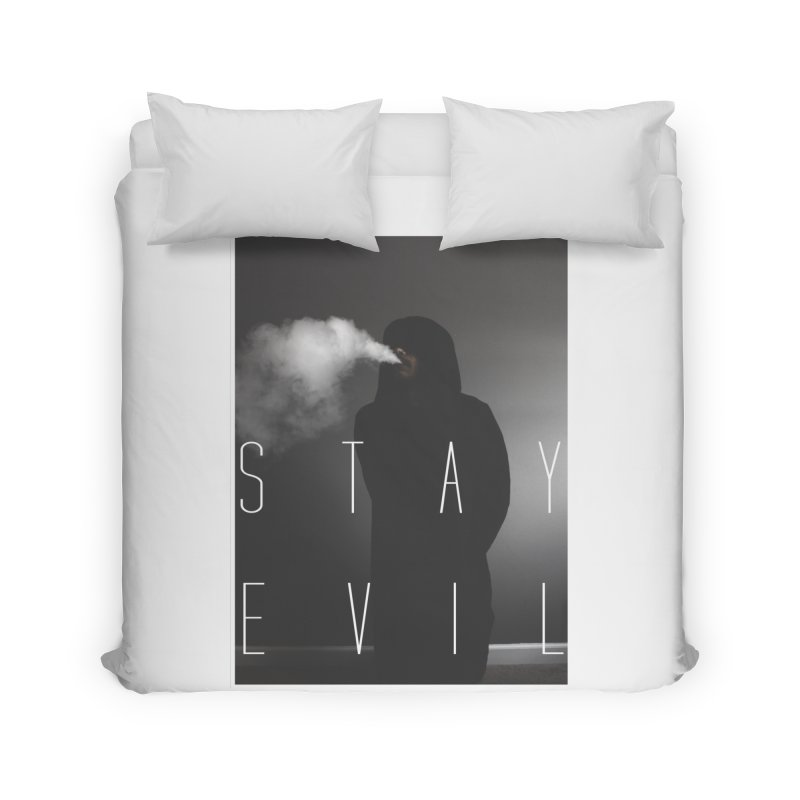 stay evil Home Duvet by matthewkocanda's Artist Shop