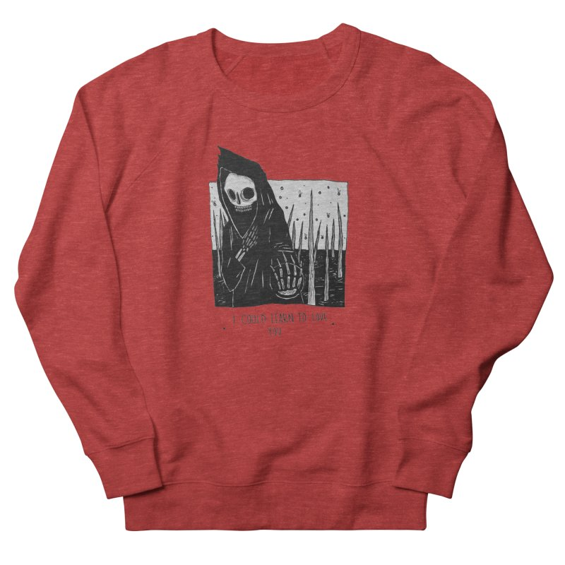 let me love you Women's French Terry Sweatshirt by matthewkocanda's Artist Shop