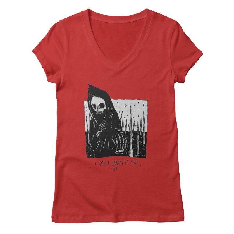let me love you Women's V-Neck by matthewkocanda's Artist Shop