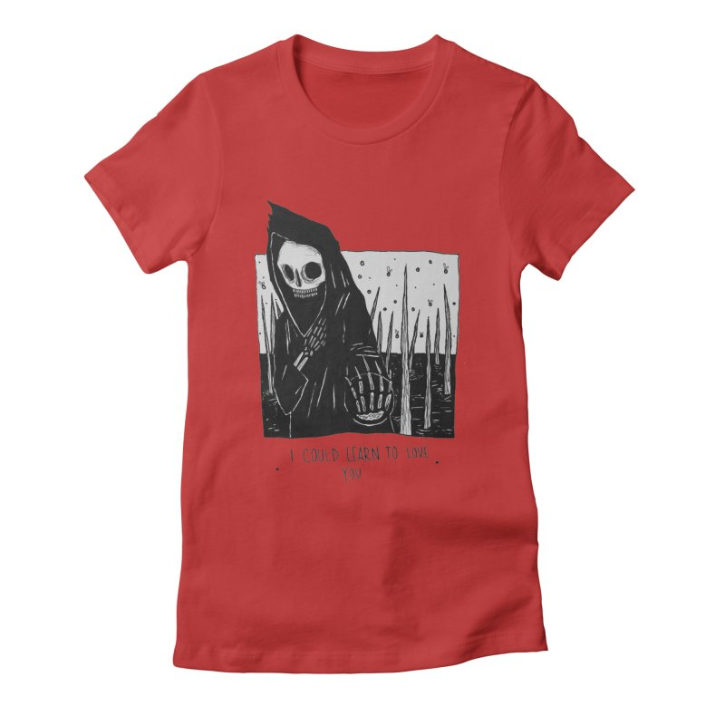 let me love you Women's Fitted T-Shirt by matthewkocanda's Artist Shop