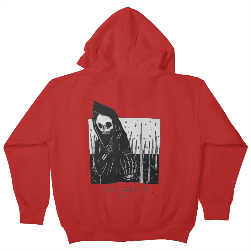 let me love you Kids Zip-Up Hoody by matthewkocanda's Artist Shop