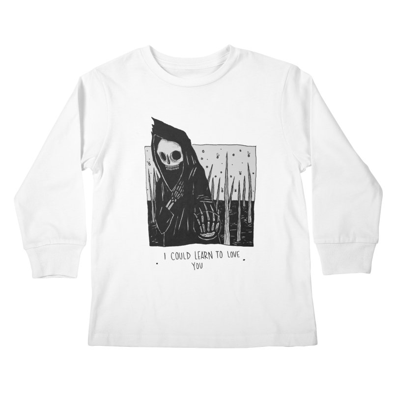 let me love you Kids Longsleeve T-Shirt by matthewkocanda's Artist Shop