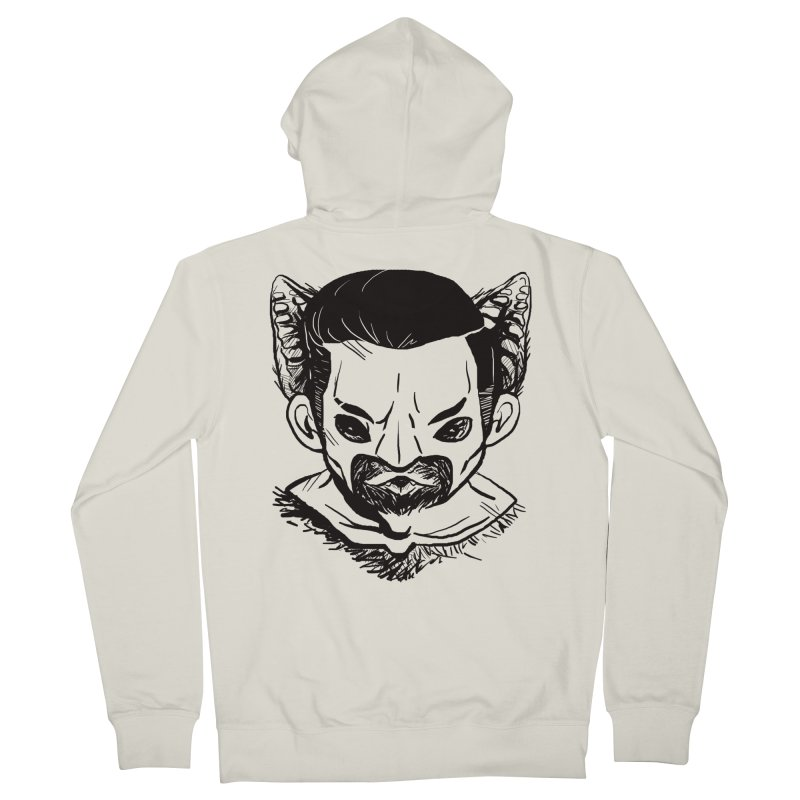 MAANBAAT Men's Zip-Up Hoody by Matthew, Mark, Luke, & John's Artist Shop