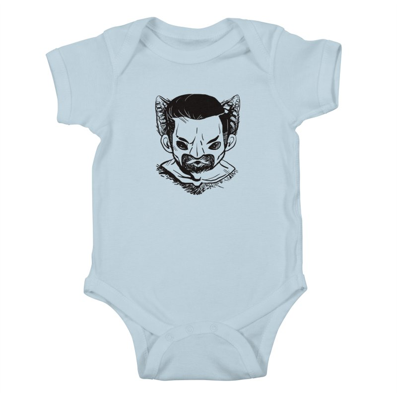MAANBAAT Kids Baby Bodysuit by Matthew, Mark, Luke, & John's Artist Shop