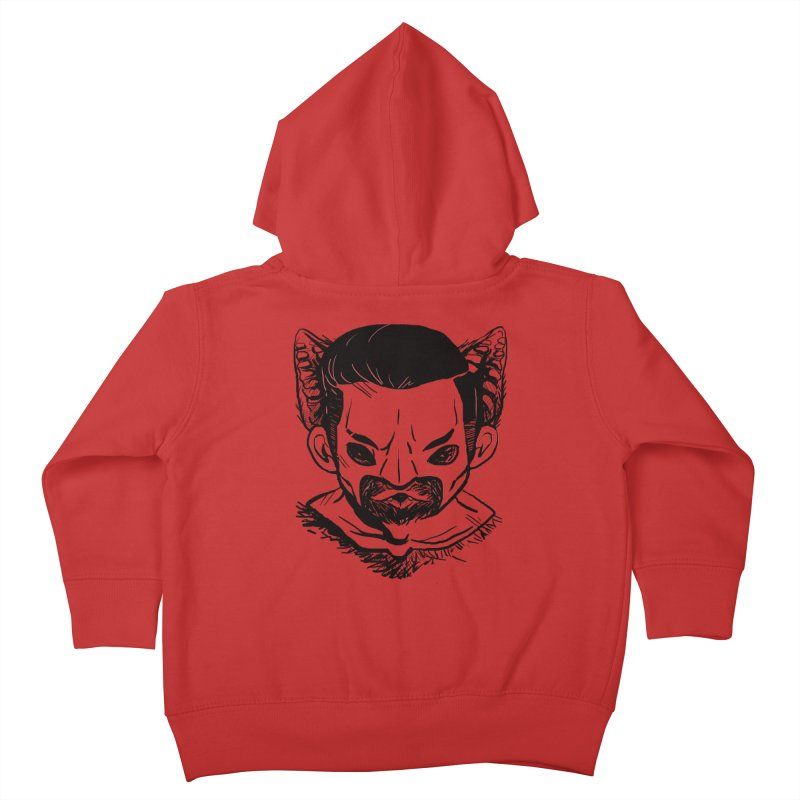 MAANBAAT Kids Toddler Zip-Up Hoody by Matthew, Mark, Luke, & John's Artist Shop