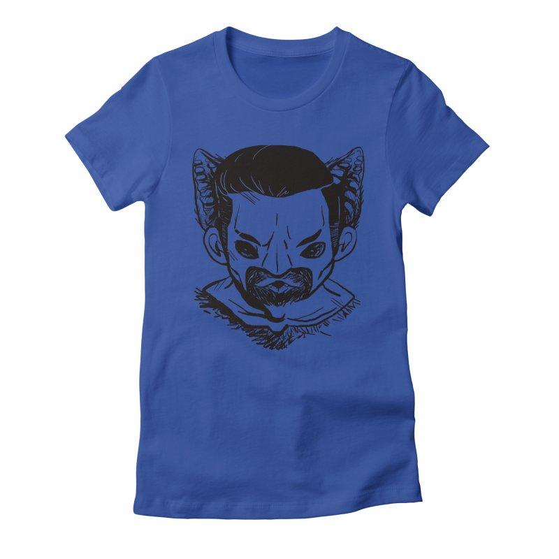 MAANBAAT Women's Fitted T-Shirt by Matthew, Mark, Luke, & John's Artist Shop