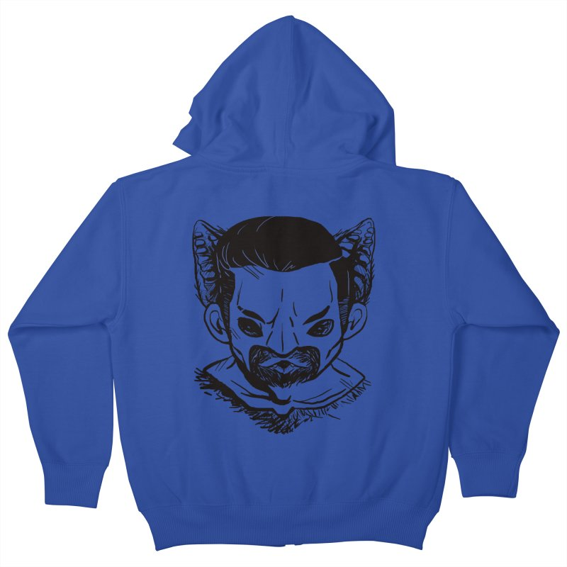 MAANBAAT Kids Zip-Up Hoody by Matthew, Mark, Luke, & John's Artist Shop