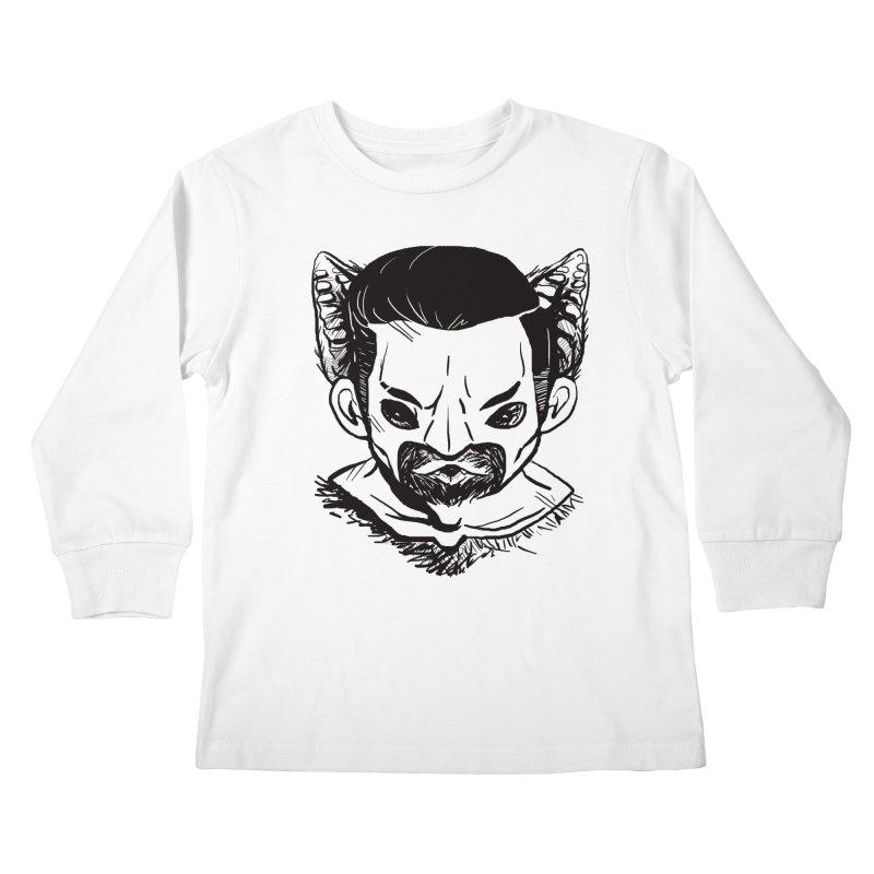 MAANBAAT Kids Longsleeve T-Shirt by Matthew, Mark, Luke, & John's Artist Shop