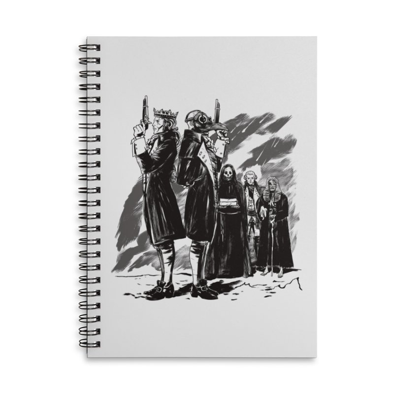 Apoca'which Horseman? in Lined Spiral Notebook by Matthew, Mark, Luke, & John's Artist Shop