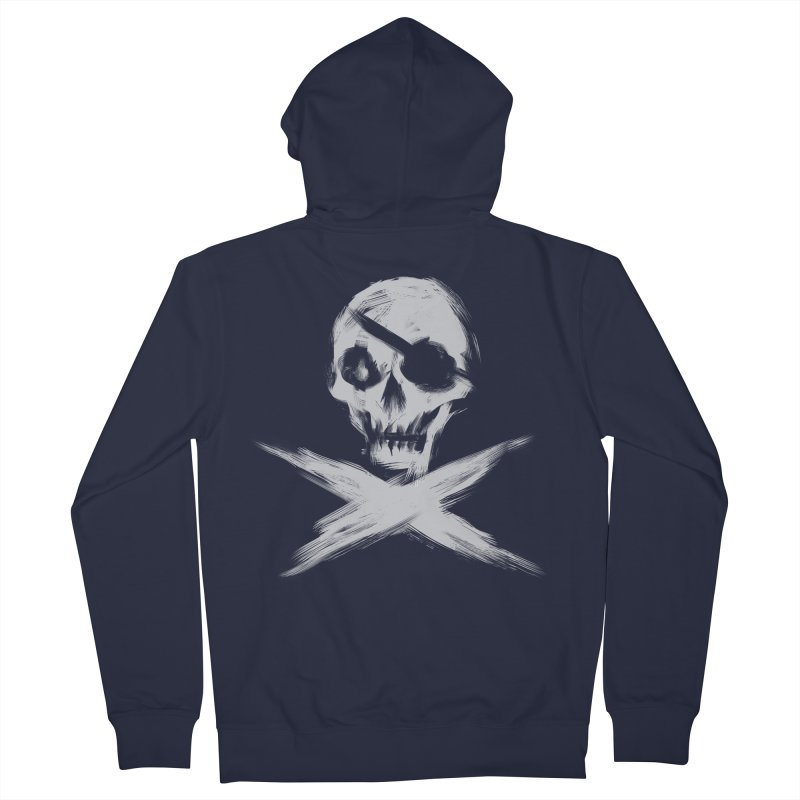 JLLY RGR Men's Zip-Up Hoody by Matthew, Mark, Luke, & John's Artist Shop