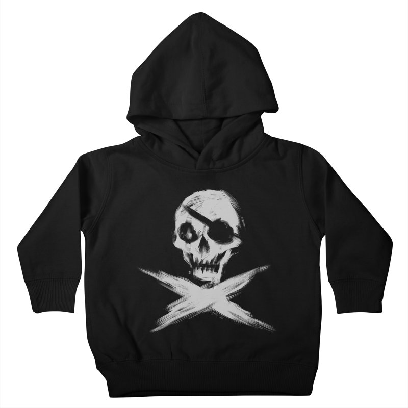 JLLY RGR in Kids Toddler Pullover Hoody Black by Matthew, Mark, Luke, & John's Artist Shop