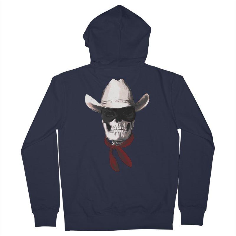 The Bone Ranger Men's Zip-Up Hoody by Matthew, Mark, Luke, & John's Artist Shop