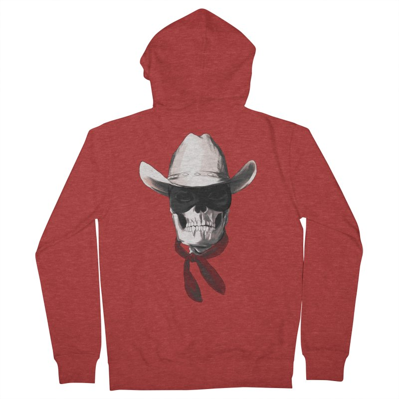 The Bone Ranger Men's Zip-Up Hoody by Matthew, Mark, Luke, & John's Artist Shop