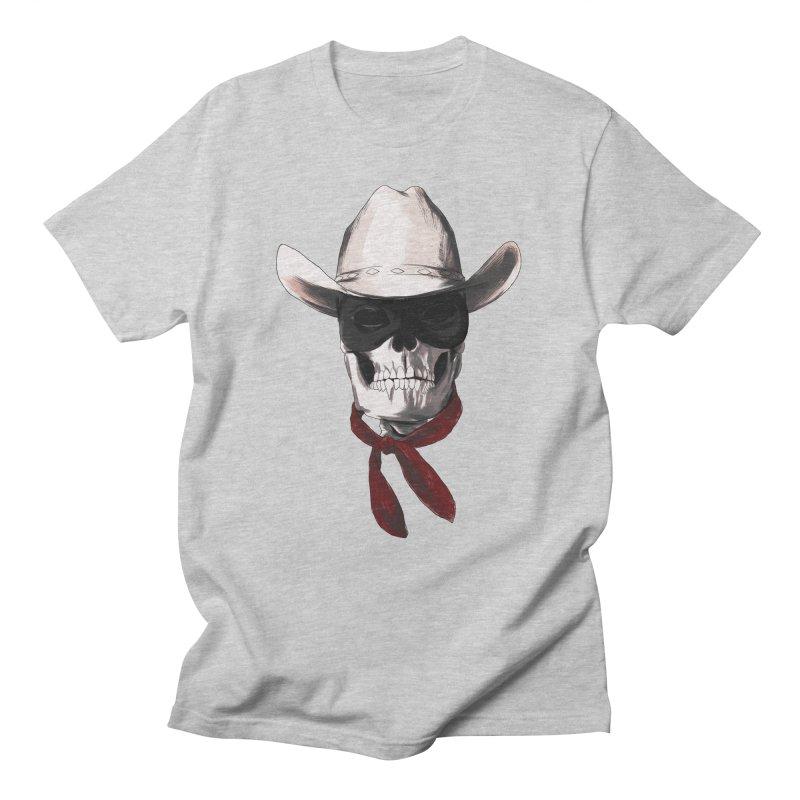 The Bone Ranger Men's T-shirt by Matthew, Mark, Luke, & John's Artist Shop