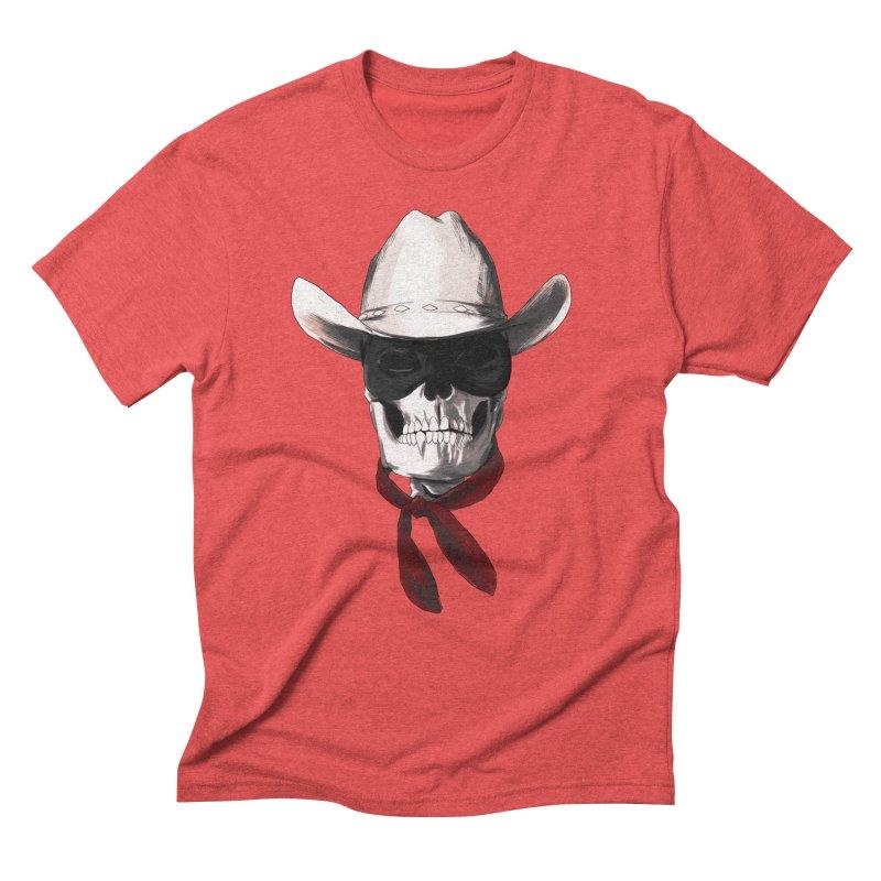 The Bone Ranger Men's Triblend T-shirt by Matthew, Mark, Luke, & John's Artist Shop