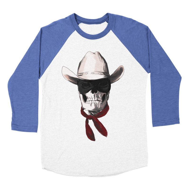 The Bone Ranger Women's Baseball Triblend T-Shirt by Matthew, Mark, Luke, & John's Artist Shop