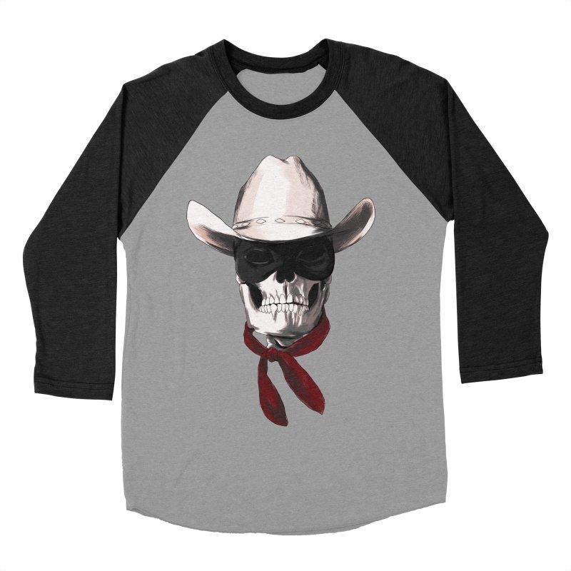 The Bone Ranger Men's Baseball Triblend T-Shirt by Matthew, Mark, Luke, & John's Artist Shop