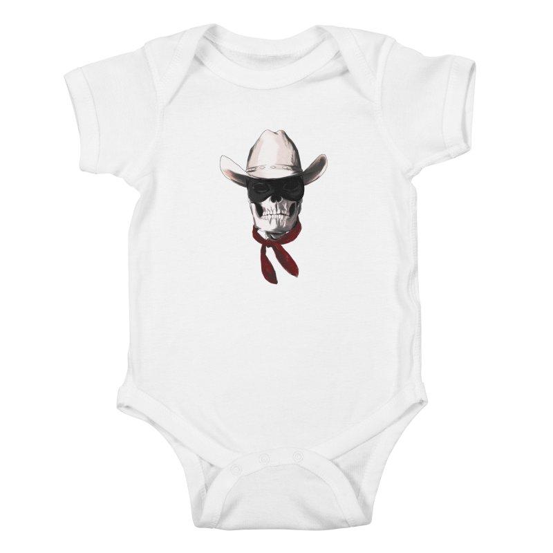 The Bone Ranger Kids Baby Bodysuit by Matthew, Mark, Luke, & John's Artist Shop