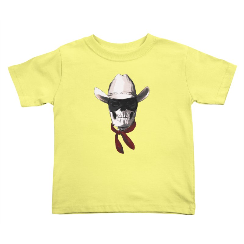 The Bone Ranger Kids Toddler T-Shirt by Matthew, Mark, Luke, & John's Artist Shop