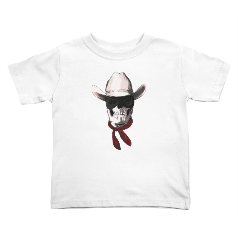 The Bone Ranger Kids Toddler T-Shirt by Matthew, Mark, Luke, & John's Artist Shop