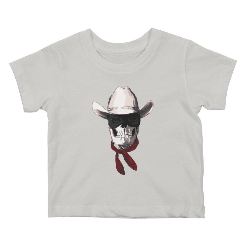 The Bone Ranger Kids Baby T-Shirt by Matthew, Mark, Luke, & John's Artist Shop