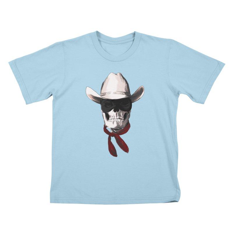The Bone Ranger Kids T-Shirt by Matthew, Mark, Luke, & John's Artist Shop