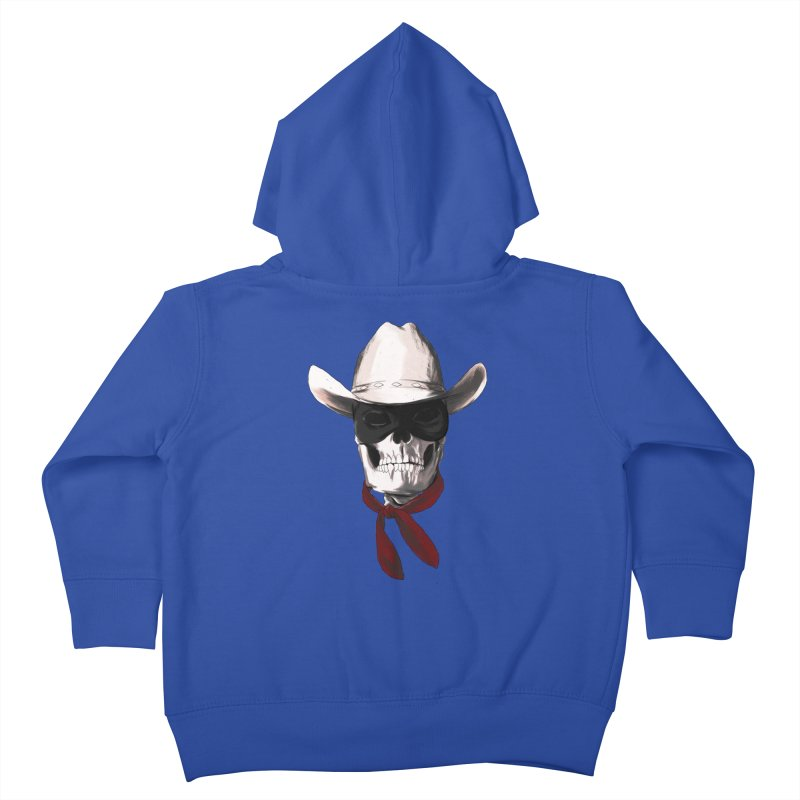 The Bone Ranger Kids Toddler Zip-Up Hoody by Matthew, Mark, Luke, & John's Artist Shop