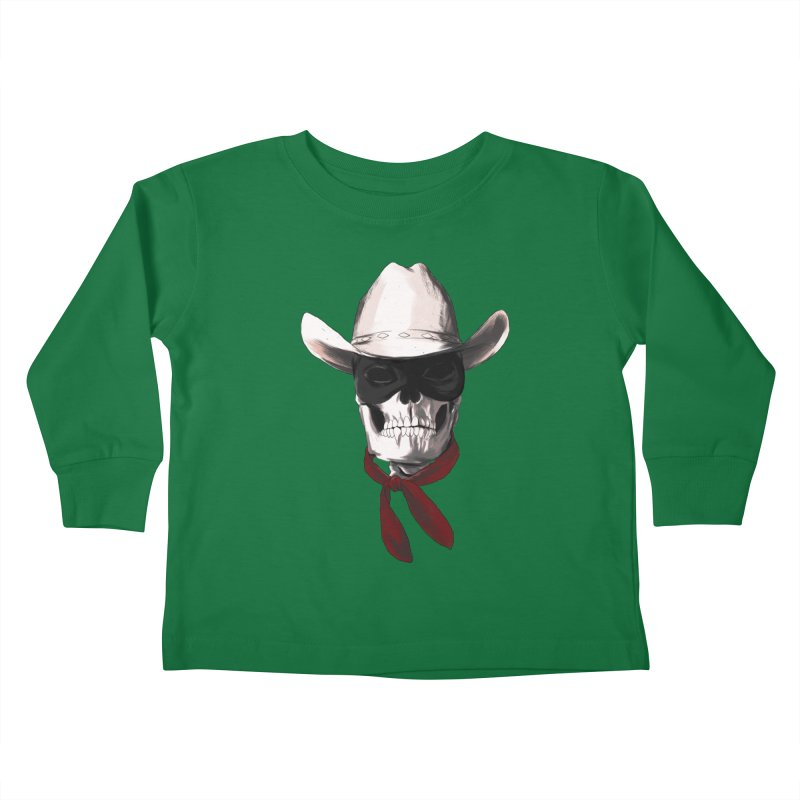The Bone Ranger Kids Toddler Longsleeve T-Shirt by Matthew, Mark, Luke, & John's Artist Shop