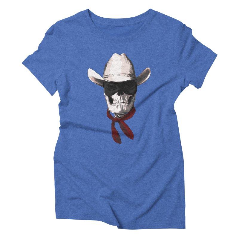 The Bone Ranger Women's Triblend T-shirt by Matthew, Mark, Luke, & John's Artist Shop