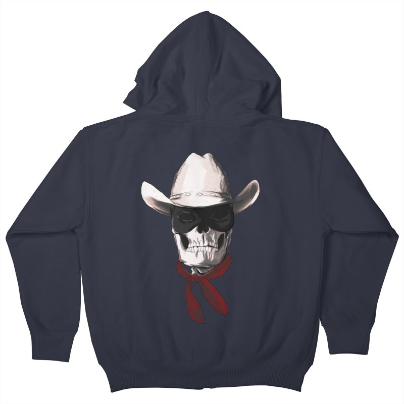 The Bone Ranger Kids Zip-Up Hoody by Matthew, Mark, Luke, & John's Artist Shop