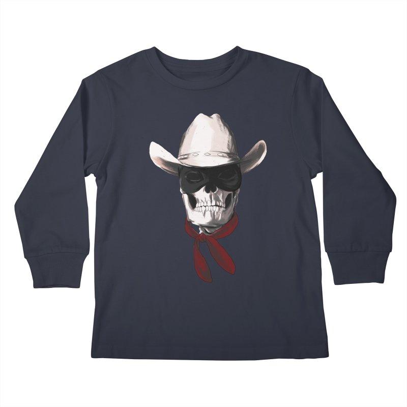 The Bone Ranger Kids Longsleeve T-Shirt by Matthew, Mark, Luke, & John's Artist Shop