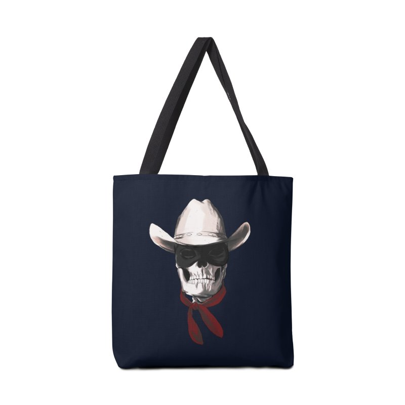 The Bone Ranger in Tote Bag by Matthew, Mark, Luke, & John's Artist Shop