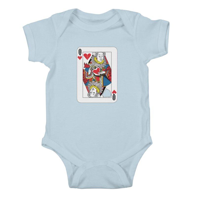 Love Yourself Kids Baby Bodysuit by Matthew, Mark, Luke, & John's Artist Shop