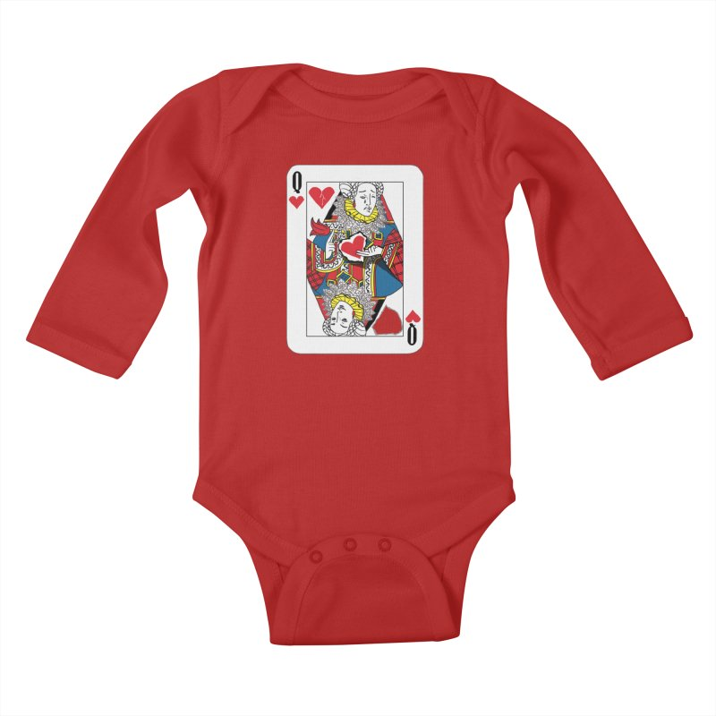 Love Yourself Kids Baby Longsleeve Bodysuit by Matthew, Mark, Luke, & John's Artist Shop
