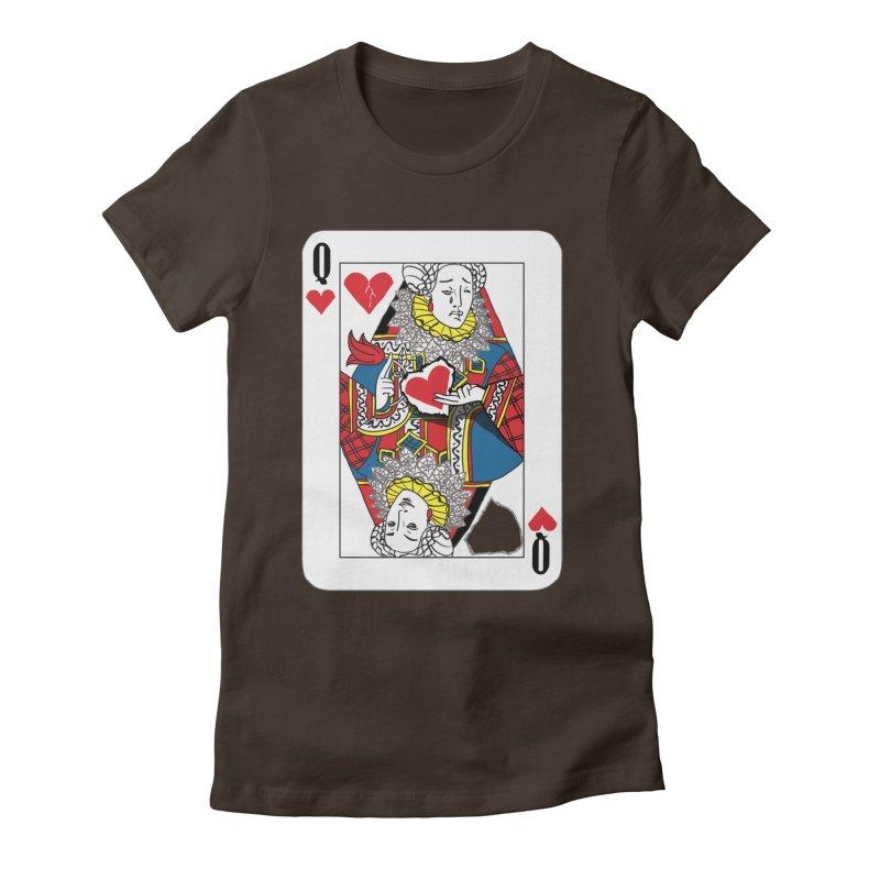 Love Yourself Women's Fitted T-Shirt by Matthew, Mark, Luke, & John's Artist Shop