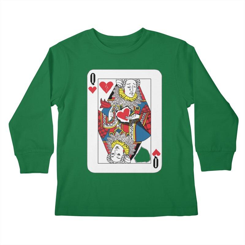 Love Yourself Kids Longsleeve T-Shirt by Matthew, Mark, Luke, & John's Artist Shop