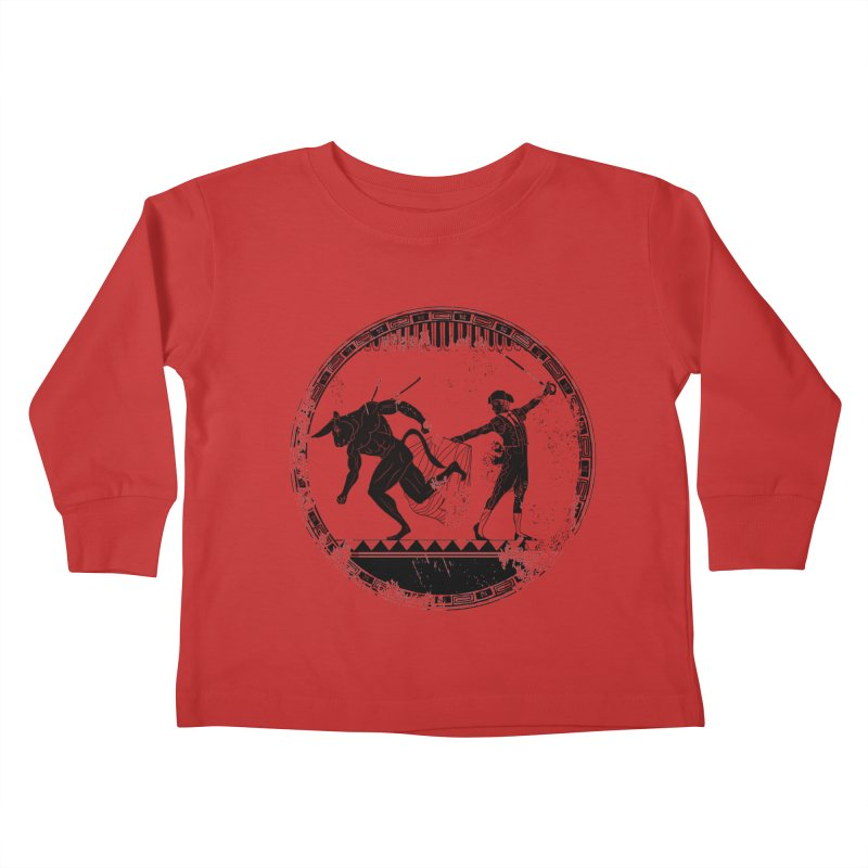 Ole! Kids Toddler Longsleeve T-Shirt by Matthew, Mark, Luke, & John's Artist Shop
