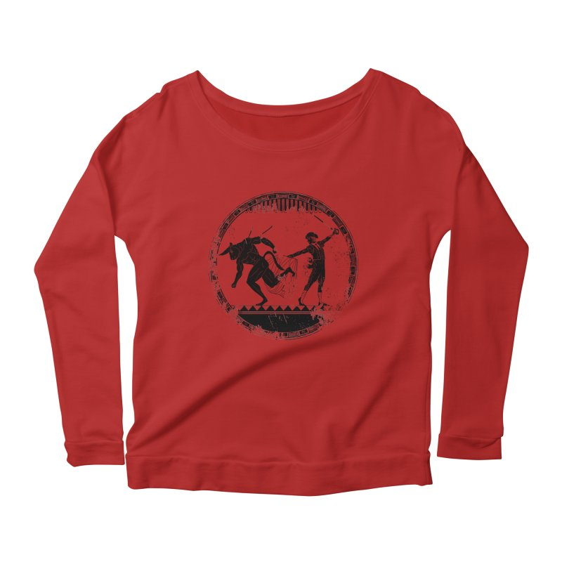 Ole! Women's Longsleeve Scoopneck  by Matthew, Mark, Luke, & John's Artist Shop
