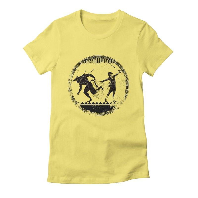 Ole! Women's Fitted T-Shirt by Matthew, Mark, Luke, & John's Artist Shop