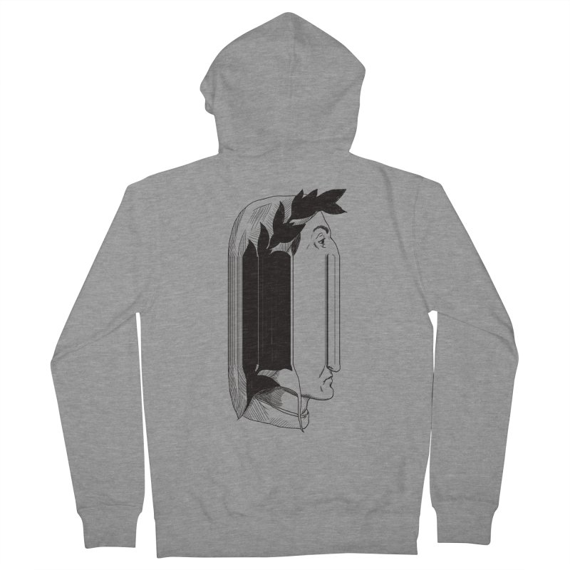 Dan56K Men's Zip-Up Hoody by Matthew, Mark, Luke, & John's Artist Shop