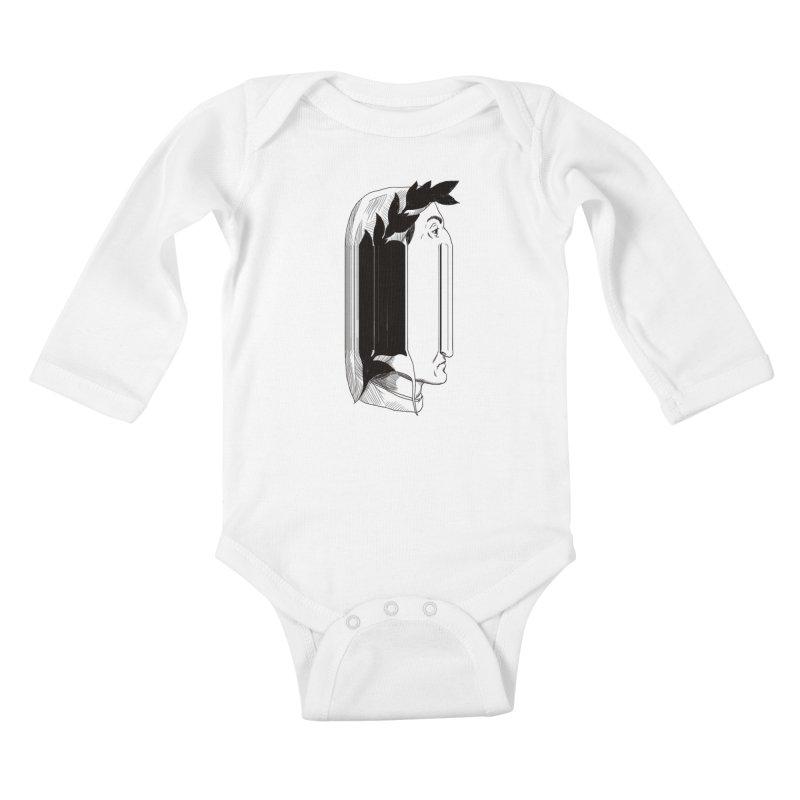 Dan56K Kids Baby Longsleeve Bodysuit by Matthew, Mark, Luke, & John's Artist Shop