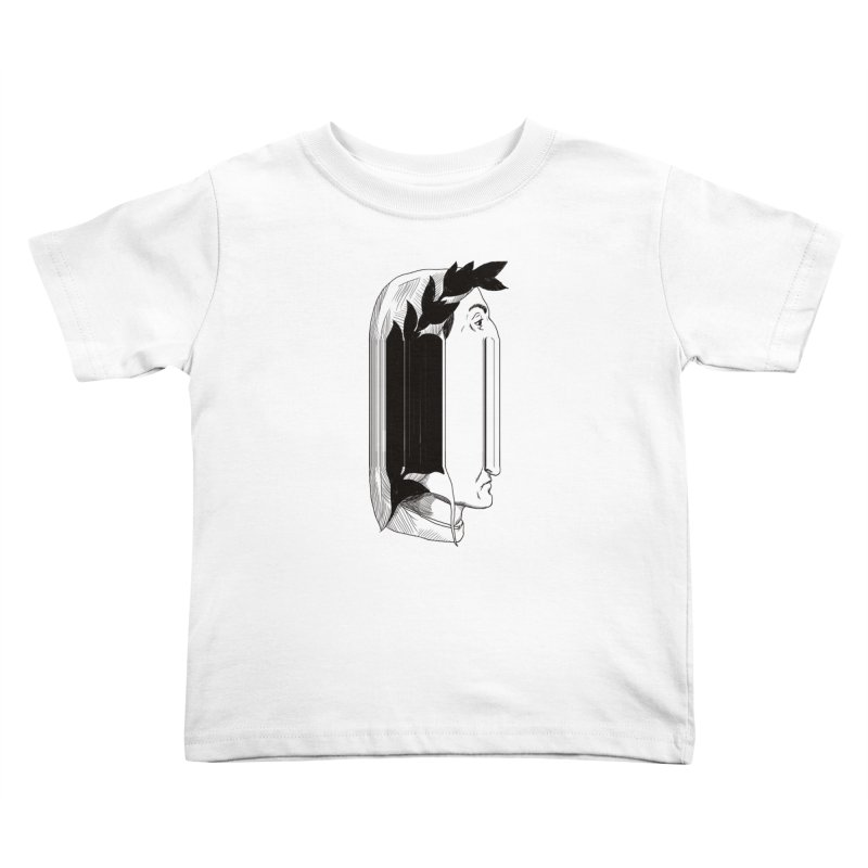 Dan56K Kids Toddler T-Shirt by Matthew, Mark, Luke, & John's Artist Shop
