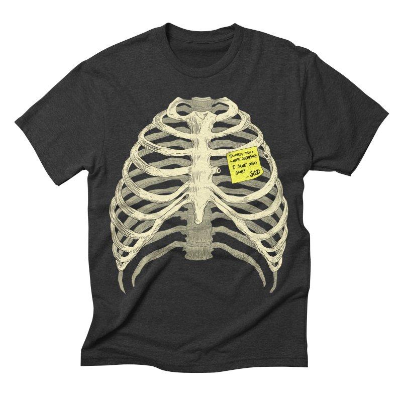 Adamus Men's Triblend T-shirt by Matthew, Mark, Luke, & John's Artist Shop