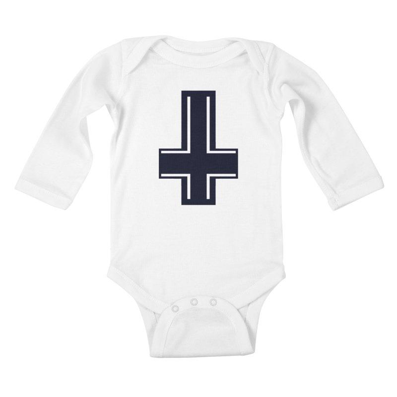 Pietro Kids Baby Longsleeve Bodysuit by Matthew, Mark, Luke, & John's Artist Shop